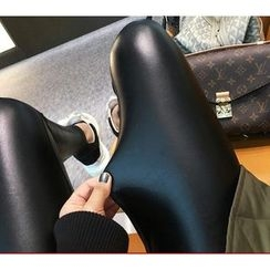 YOSH - Faux Leather Leggings