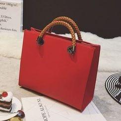 Nautilus Bags - Faux Leather Tote Bag