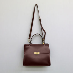 NANING9 - Faux-Leather Tote