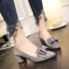 Yoflap - Pointy Block Heel