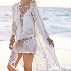 Sunset Hours - Lace Light Jacket