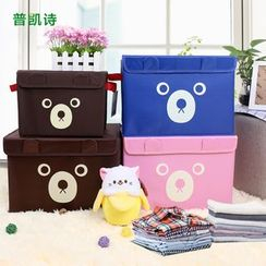 Plukish - Bear Print Storage Box