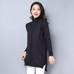 Labbara - 樽领针织裙衣