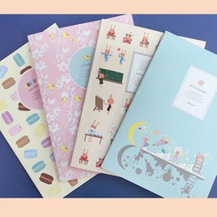 BABOSARANG - Set of 4: Illustration Note Book (M)