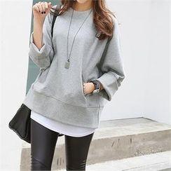 PEPER - Raglan-Sleeve Pocket-Front T-Shirt