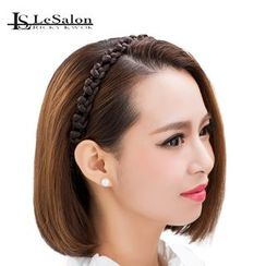 LeSalonWigs - Hair Extension -  Braid Hair Band (Elegance)