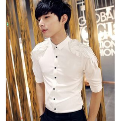 Simsam - 翅膀裝飾襯衫