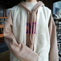 MePanda - Fleece Lined Plain Vest