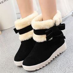 Simply Walk - Fleece Lined Platform Snow Boots
