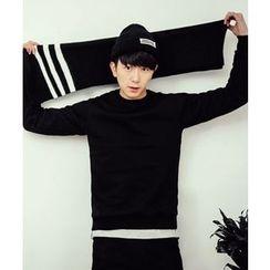 MEOSIDDA - Brushed-Fleece Lined Sweatshirt