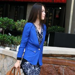 59th Street - Metal-Tip Pocket Blazer