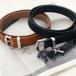 DANI LOVE - Faux-Leather Belt