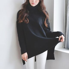 JUSTONE - Turtleneck Long Sweater