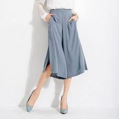 Tokyo Fashion - Wide-Leg Cropped Pants