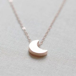 Claudette - Crescent Pendant Necklace