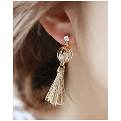 Miss21 Korea - Tassel Dangle Earrings