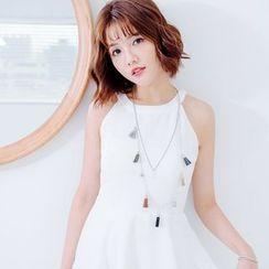 Tokyo Fashion - Tassel Layered Necklace