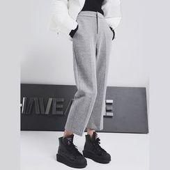 Sonne - 呢料九分裤