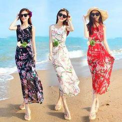 MayFair - Floral Print Sundress