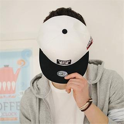 STYLE FOR MEN - Color-Block Baseball Cap