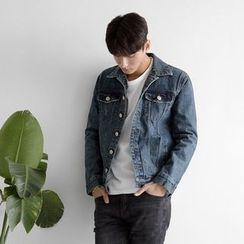 Seoul Homme - Washed Denim Jacket