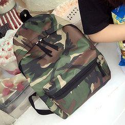 Velocia - Camo Backpack