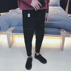 Basique - 刺绣哈伦裤