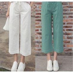 Raisin - Capri Wide-leg Pants