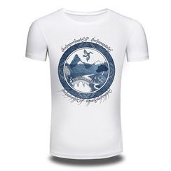 T Empire - Print Short-Sleeve T-shirt