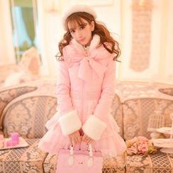 Candy Rain - Furry Padded Long Coat