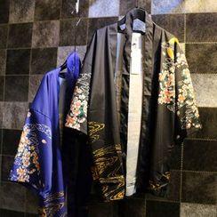 Jade Rabbit - Print Kimono Jacket