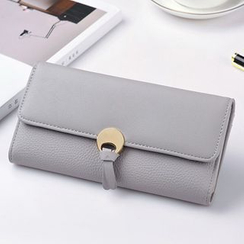 BeiBaoBao - Faux-Leather Long Wallet