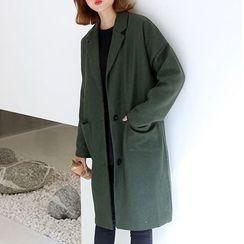 Cloud Nine - Drop Shoulder Coat