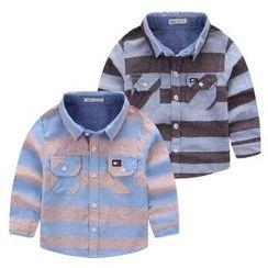 JAKids - 小童條紋襯衣