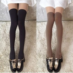 Little Flower - Over-The-Knee Stockings