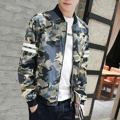 2RZ - Camouflage Zip Jacket