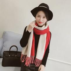Leann - 雙色圍巾
