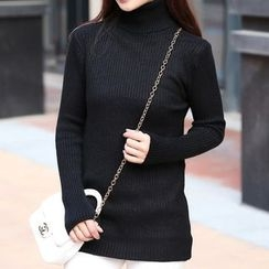 Crytelle - Turtleneck Long Sweater
