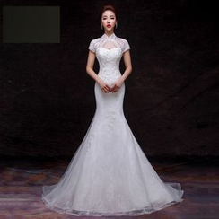 Amanecer - Embellished Mermaid Wedding Dress