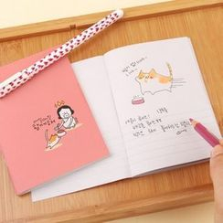 Full House - Printed Notebook (Small)
