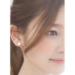 kitsch island - Silver Earrings