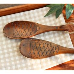 Timbera - Fish Wooden Rice Spoon