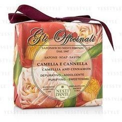 Nesti Dante - Gli Officinali Soap - Camellia and Cinnamon - Purifying and Sweetening