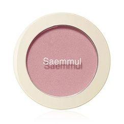 The Saem - Saemmul Single Blusher (#PK02 Naked Pink)