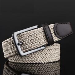 BAIEKU - Woven Canvas Belt