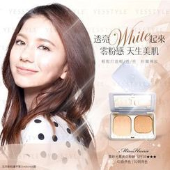 Miss Hana - Chiffon Light Whitening Powder Foundation SPF 35 PA+++ (#01 Warm Beige)