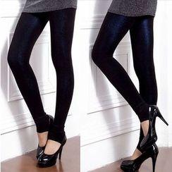 misumisu - Fleece-lined Leggings