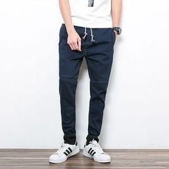 Danjieshi - Plain Jogger Pants