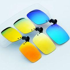 Sunny Eyewear - Mirrored Clip-on Sunglasses