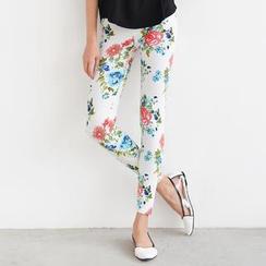 SO Central - Flower Pattern Leggings